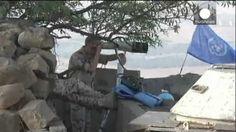 Enfrentamientos entre cascos azules de la ONU y extremistas sirios en los Altos del Golán