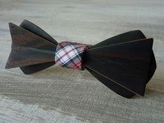 Noeud papillon en bois d'Ebène, Wooden bowties !!!