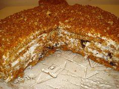 Торт медовик Особенный рецепт с фотографиями