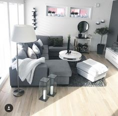 Perfect shape for our small living room. A minimalist style is ideal when you wi… – Minimalist Living Room – einrichtungsideen wohnzimmer Living Room Grey, Small Living Rooms, Home Living Room, Living Room Modern, Living Room Designs, Contemporary Living Room Decor Ideas, Small Room Design, Living Room Remodel, Living Room Inspiration