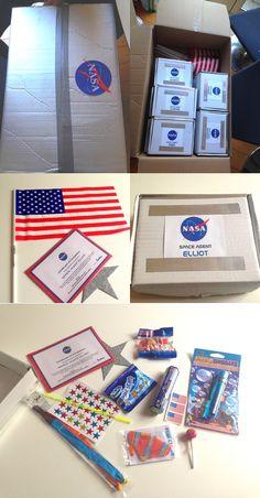 Goodies bag - party bags - anniversaire de l'espace - outer space birthday party