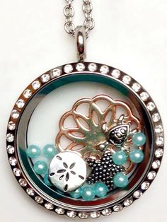 Seaside locket by South Hill Designs! Www.southhilldesigns.com/merandjo