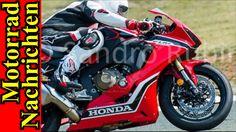 Honda CBR1000RR FIREBLADE 2017 | künstliche Intelligenz | A2-Führerschei...