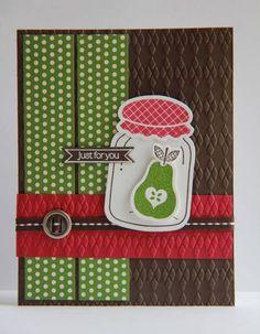 Jar of Fun by ladybugdesigns - Cards and Paper Crafts at Splitcoaststampers