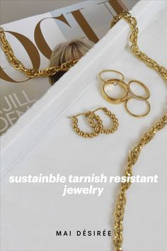 Say bye (for now) to summer and hello to Fall 🍁with markdowns up to 50%. #parisianvibes #goldenhour #goldjewelry #goldrings #goldchains #shopjewerly #sustainablejewelry #jewelrtinspo #fashion #fashionstyle #accessories #style #styleinpo #jewelrytrends #fashiontrends #daintyjewelry #demifinejewelry