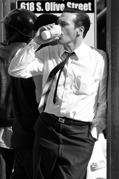 two of my favourite things....coffee and hamm!