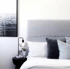 Simple Style Co is one of Australia's leading online stores specialising in Modern Scandinavian homewares & children's decor. Buy Now, Pay Later available. Globe West, Monochrome Bedroom, Interior Design Masters, Bedroom Setup, Bed Head, Bed Styling, Cool Tones, Contemporary Bedroom, Rugs Online
