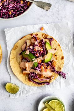 Best cod fish tacos is seasoned white fish layered with corn cabbage slaw and a creamy sauce, tucked inside warm corn tortillas. Quick, easy, and flavorful! Cod Fish Recipes, Seafood Recipes, Mexican Food Recipes, Cooking Recipes, Healthy Recipes, Tilapia Recipes, Cooking Tips, Dinner Recipes, Cod Fish Tacos