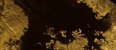 Lago en la Luna de Saturno TItan