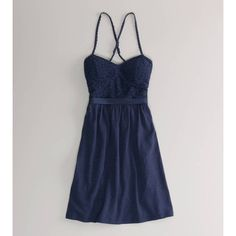 American Eagle Outfitters Ae Lace Corset Dress found on Polyvore