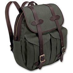 8ce10cfc306 Filson Unisex Rucksack Otter Green Backpack Rucksack Backpack, Diaper  Backpack, Travel Bags, Green