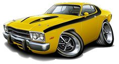 Cartoon Muscle Cars | Your feedback is submitted. Thank you for helping us improve! Tell us ...