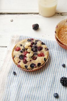 Black and Blue Berry Buckle