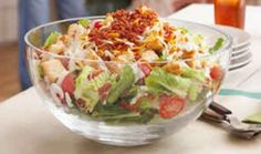 BLT Salad – Weight Watchers... Serves 4........ Smart Points = 5 OR Points Plus = 4