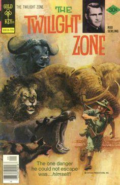 The Twilight Zone Comic #80 Publisher: Gold Key Comics Date: September 1977
