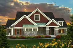 Ranch Plan With Large Great Room - 89918AH thumb - 01