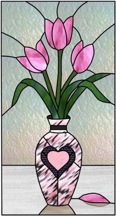 heart stained glass window stained glass | Stained Glass Windows Etc | Custom stained glass windows, mosaic ...