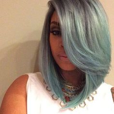 2015 Short Hair Trends Haircuts for Black Women - love her hair Ombré Hair, Hair Dos, Her Hair, Short Hair Trends, Short Hair Styles, Natural Hair Styles, Bob Styles, Weave Hairstyles, Pretty Hairstyles