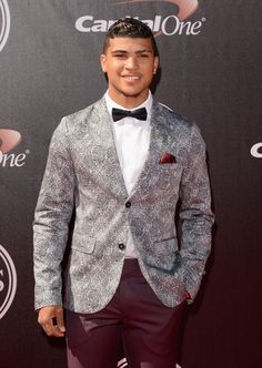 DeAndre Yedlin at the ESPYS #suits