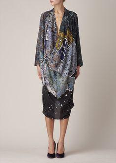 Anntian Long Dress (Stone)