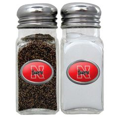 """Checkout our #LicensedGear products FREE SHIPPING + 10% OFF Coupon Code """"Official"""" Nebraska Cornhuskers Salt & Pepper Shaker - Officially licensed College product Glass shaker set Steel toppers No game day event is complete without your team shakers Nebraska Cornhuskers metal emblems on each shaker - Price: $26.00. Buy now at https://officiallylicensedgear.com/nebraska-cornhuskers-salt-pepper-shaker-cshk3a"""