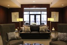 Affinity Corporate Living's Apartment Community lobby