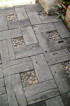 These highly versatile, molded concrete pavers are the sustainable, do-it-yourself alternative to typical brick-style pavers for patios and walkways. Their well