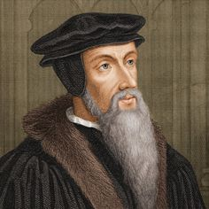 """Reformation: Luther & Calvin: This is John Calvin and he was the leader of the Protestant Reformation. He also helped develop a concept called """"Calvinism"""". Reformation Day, Protestant Reformation, Mary Of Guise, Reformed Theology, Mary I, Church History, Elizabeth I, Daily Prayer, Reformation"""