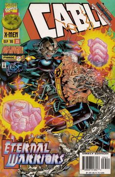 Browse the Marvel Comics issue Cable Learn where to read it, and check out the comic's cover art, variants, writers, & more! Marvel Comic Books, Disney Marvel, Comic Book Characters, Comic Books Art, Marvel Comics, Book Art, X Mem, Crazy Toys, Heroes Reborn