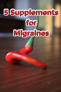 5 Supplements for Migraines
