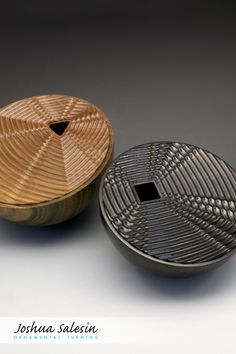 Part of a series that explores a variety of shapes, patterns and natural wood color, this Wave Theory Vessel features geometric waves that eminate from a square opening across a planar surface. Wave Theory, Wood Colors, Wood Turning, Natural Wood, Decorative Bowls, Surface, African, Shapes, Patterns