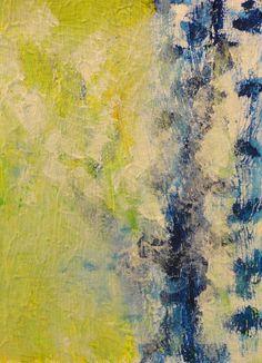 Birch IV - Mixed Media, Canvas, 2012