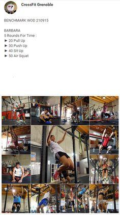 #CrossFitGrenoble #CrossFitVoiron #CrossFit #Barbara #Wod