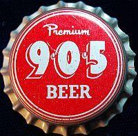 905 Premium Beer, bottle cap | Atlas Brewing Co., Chicago, Illinois USA | cap used 1960-1965