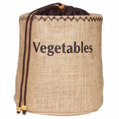 KitchenCraft Natural Elements Vegetable Jute Sack - Kitchen Craft