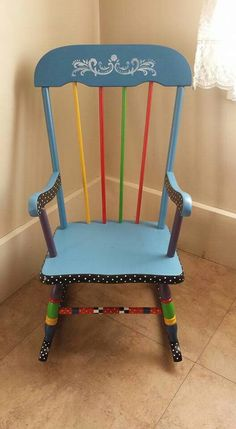 Chalk Painted Vintage High Chair. Mint Green And Gold!!! | Swell BELLA Refinishing  Las Vegas! | Pinterest | Vintage High Chairs, High Chairs And Chalk Paint