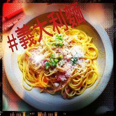 いいね!81件、コメント9件 ― Lenaさん(@xxleileixx)のInstagramアカウント: 「My Dinner today. Spaghetti Carbonara. Credits go to #cookingwithdog #好吃 #飯 #日本菜 #日本飯 #Instalike…」