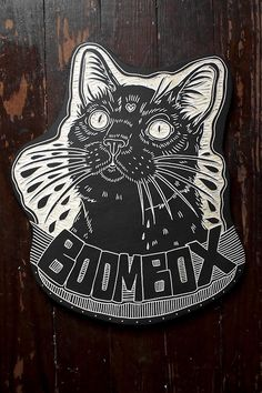 Boombox the cat. 2014