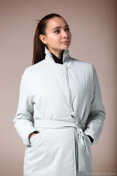 Утепленный Зимний Плащ Белый Winter Coat White – купить в интернет-магазине на Ярмарке Мастеров с доставкой
