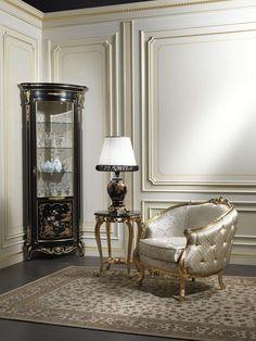 Classic cabinet showcase Chinoiserie art. 951/5 | Vimercati Classic Furniture