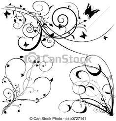 Stock illusztráció - virágos, alapismeretek, c-hang - stock illusztráció, szerzői jogdíj mentes illusztrációk, stock clip art ikon, stock clip art ikonok, logo, line art, EPS kép, képek, grafika, grafikák, rajz, rajzok, vector kép, grafika, EPS vektor grafika
