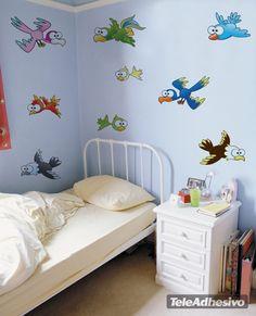 Kinderzimmer Wandtattoo Small bird 6