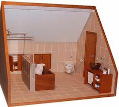 Bathroom for a loft room