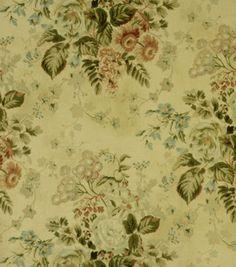 Home Decor Print Fabric-Covington Laurel 195 Vinatge LinenHome Decor Print Fabric-Covington Laurel 195 Vinatge Linen,