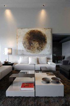 Minimal Interior Design Inspiration 8 - That painting!