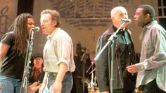 """""""Released!"""" includes performance clips featuring U2, Bruce Springsteen, the Police, Peter Gabriel, Radiohead, Jimmy Page and Robert Plant, Lou Reed, Jackson Browne, Joan Baez and many others, and has been created in conjunction with the release on Tuesday, Nov. 5, of a six-DVD set of four films highlighting each of those tours."""