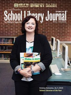 How one librarian went from a job cut to School Librarian of the Year | On Our Minds