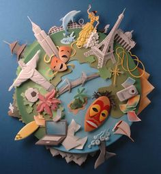 Paper Craft by Carlos Meira