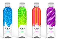 Creative Packaging: 100 Artistic Bottles That Showcase Effective Branding - You The Designer (Bottle Design Creative) Water Packaging, Juice Packaging, Cool Packaging, Beverage Packaging, Bottle Packaging, Brand Packaging, Design Packaging, Label Design, Package Design