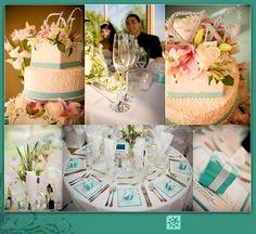 Matrimonio a tema azzurro Tiffany
